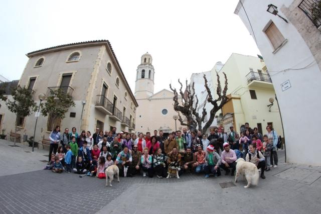 Èxit de participació a la 1a Caminada a Puig de Tuila amb camisa lletja