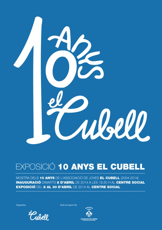 Exposició 10 anys El Cubell