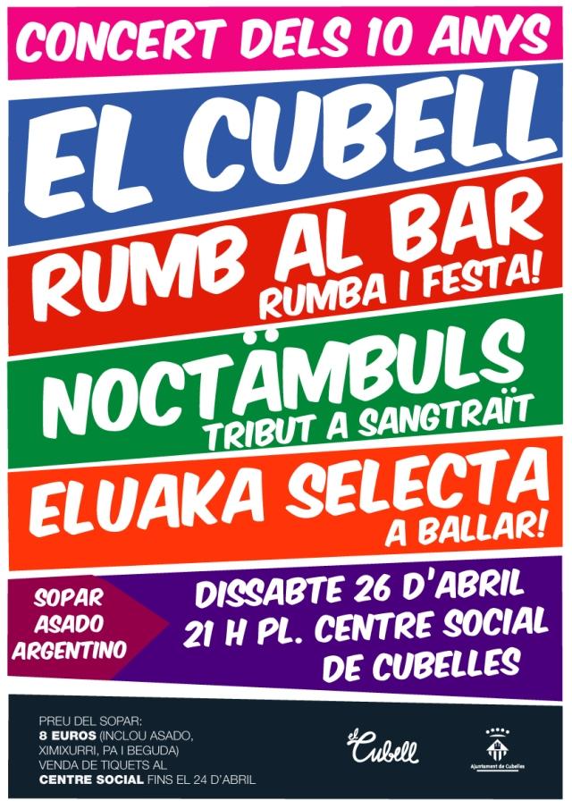 Concert dels 10 anys El Cubell