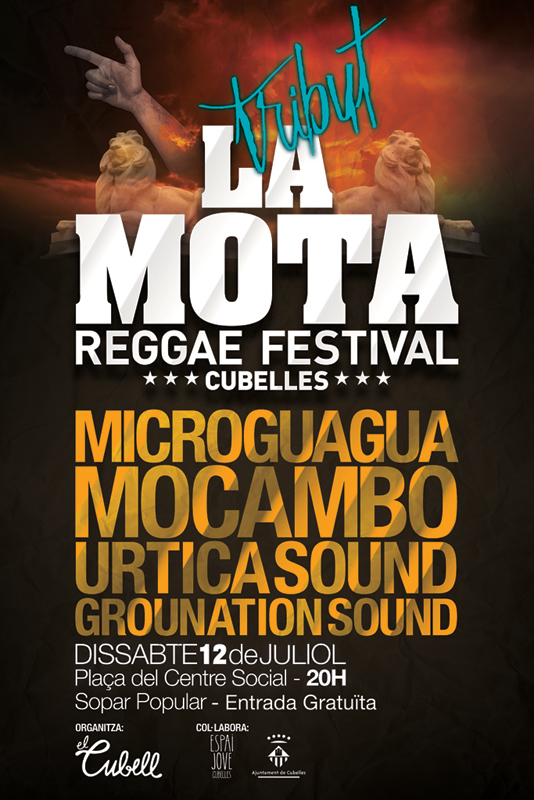 Tribut a La Mota Reggae Festival